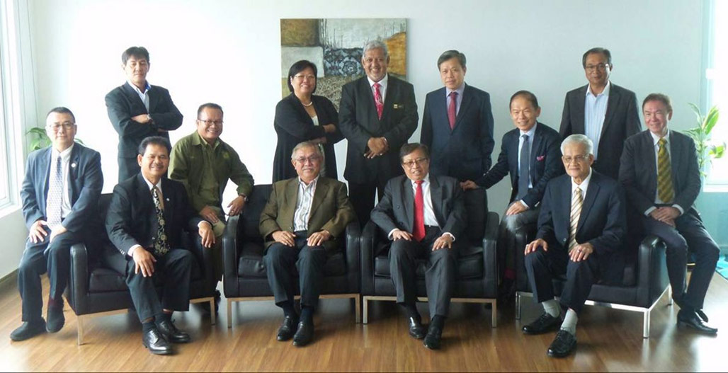 Seated far right : Chairman ,Hon. Datuk Haji Abdul Wahab Bin Aziz