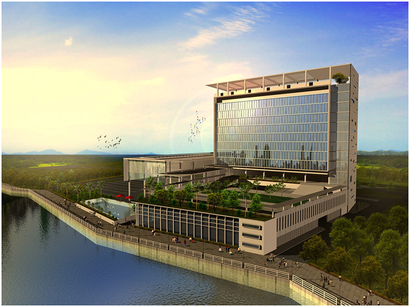 Image shows UCSI Hotel Concept Rendition, Photo credit: UCSI Group