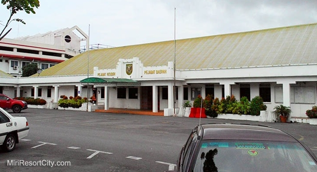Image shows the Miri Resident's and District office. Photo credit: Miri City Council.