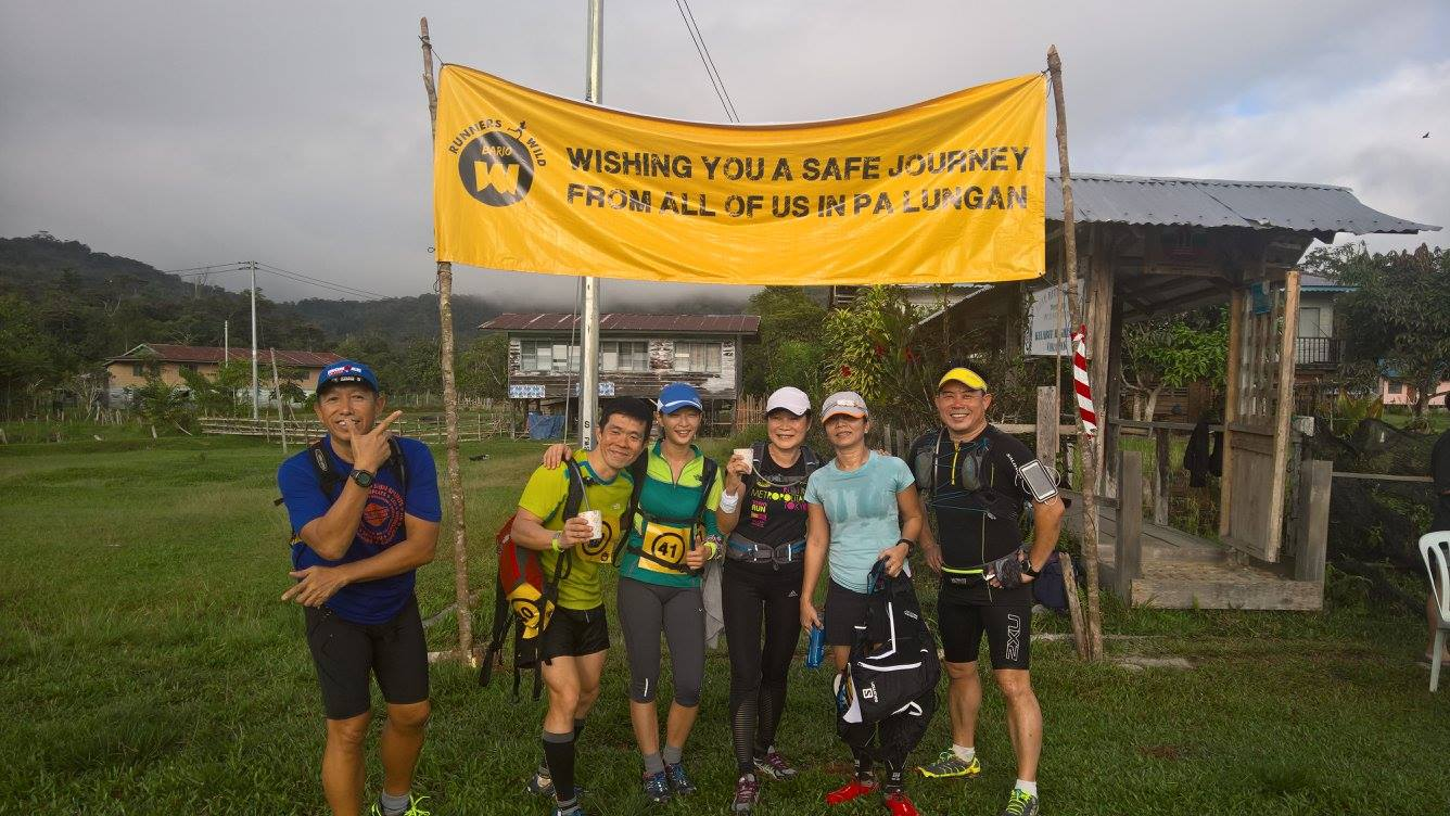 Image shows the Runners Wild Bario 2016 starting point. Photo credit: Runenrs Wild Bario